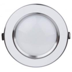 Spot LED 5W Rotund Mat Argintiu